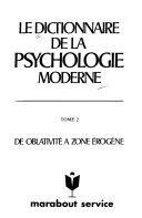 Le Dictionnaire de la psychologie moderne
