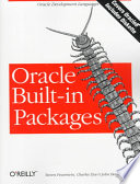 ORACLE BUILT-IN PACKAGES. Avec une disquette