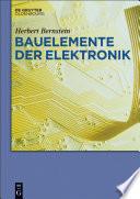 Bauelemente der Elektronik