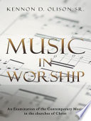 Ebook Music In Worship Epub Kennon D. Olison Sr. Apps Read Mobile
