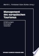 Management des europäischen Tourismus
