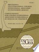 Proceedings Fifth International Congress International Association Of Engineering Geology