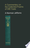 download ebook a commentary on the collected poems of w. b. yeats pdf epub