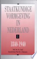 Staatkundige vormgeving in Nederland