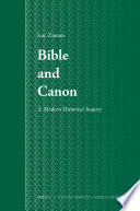 Bible and Canon