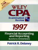Wiley CPA Examination Review 1997