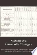Statistik der Universität Tübingen