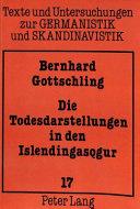 Die Todesdarstellungen in den Islendingasǫgur