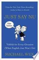 Just Say Nu Book PDF