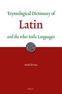 Etymological Dictionary of Latin
