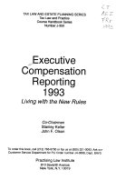 Executive compensation reporting  1993