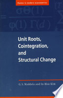 Unit Roots  Cointegration  and Structural Change