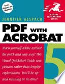 PDF with Acrobat 5