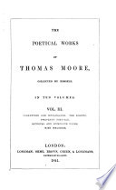 The Poetical Works of Thomas Moore  Corruption and intolerance   The sceptic   Twopenny postbag   Satirical and humourous poems   Irish melodies Book PDF