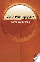 Jewish Philosophy A-Z.