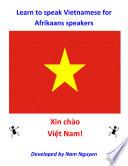 Learn to Speak Vietnamese for Afrikaans Speakers