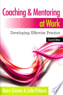 Coaching And Mentoring At Work  Developing Effective Practice