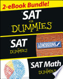 SAT For Dummies  Two eBook Bundle
