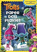 Trolls Reusable Sticker and Paper Doll C a Book  DreamWorks Trolls