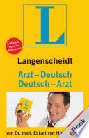 Langenscheidt Arzt Deutsch Deutsch Arzt