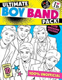 Ultimate Boy Band Pack  Colour in One Direction Colour in 5SOS