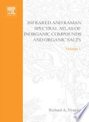 Handbook Of Infrared And Raman Spectra Of Inorganic Compounds And Organic Salts book
