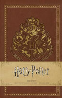 Harry Potter  Hogwarts Ruled Pocket Journal