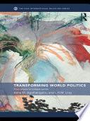 Transforming World Politics