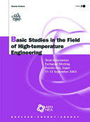 Basic Studies in the Field of High temperature Engineering
