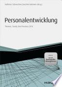 Personalentwicklung Inkl Special Demografie Management