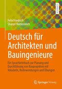 Deutsch F R Architekten Und Bauingenieure