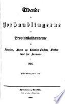 Tidende for forhandlingerne ved Provindsialstaenderne for Sjaellands, Fyens of Lollands-Falsters stifter samt for Island Faerøerne