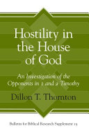 Hostility in the House of God