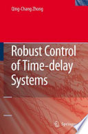 Robust Control of Time delay Systems