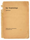 Bp: Beginnings Pdf/ePub eBook