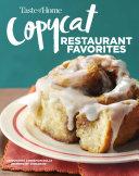 Taste of Home Copycat Restaurant Favorites Book
