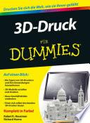 3D Druck f  r Dummies