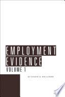 Employment Evidence