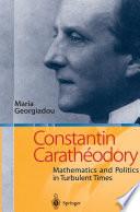 Constantin Carath  odory