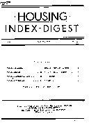 Housing Index digest