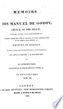 Memoirs Of Don M De G Written By Himself Edited By Lieut Colonel J B D Esm Nard With An Introduction Historical And Biographical Notes Etc