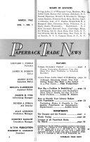 Paperback Trade News