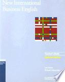 New International Business English Updated Edition Teacher s Book