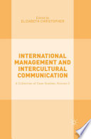 International Management and Intercultural Communication