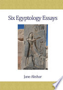 Six Egyptology Essays