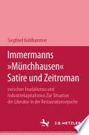 """Immermanns """"Münchhausen"""""""