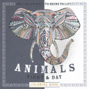 Animals Night   Day Coloring Book