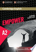 Cambridge English Empower Elementary Teacher s Book
