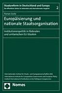 Europäisierung und nationale Staatsorganisation