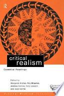 Critical Realism